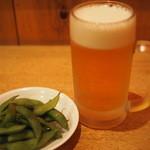 竜 - 300えん『生ビール』+300えん『お通し』2014.11