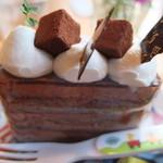 32611331 - チョコレートのケーキ