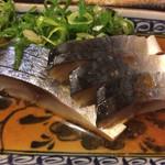 七津屋 - 鯖きずし