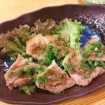 懐石居酒屋 漁火 - 豚肉ネギ味噌