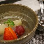 禅紫 - 14.11夜のコース(5,500円)デザート