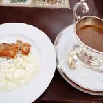 レストラン ル・プラトー - チキンソテーカレー
