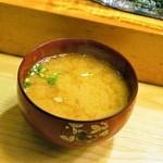 鮨大前 - 2014.11 味噌汁