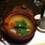 酒菜亭 ひぐち - 国産松茸土瓶蒸し