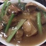 32618603 - ・牛バラ肉の醤油煮丼