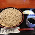 坂東太郎 - 料理写真:もり600円
