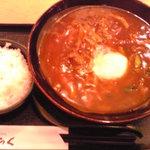 3262171 - 温玉カレーうどん定食 750円