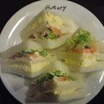 3262522 - 野菜サンド たまご&ポテサラ
