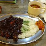 AKAI TORI - 黒カレー スープ付き