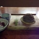 蕎麦切り大城 - ランチFセット<玄挽き手打ちもり蕎麦+海鮮丼>(1200円)