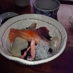 蕎麦切り大城 - ランチFセットの海鮮丼♪