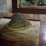 蕎麦切り大城 - 玄挽き手打ちもり蕎麦アップ