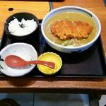 ダイキチ - ローストンカツカレーうどん膳 950円
