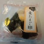 ジェイアール東海パッセンジャーズ 新横浜プラザ下り13店 - 煮たまご おにぎり 152円(2014.10.24)
