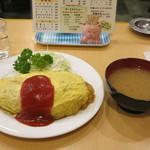 コトブキ - オムライス&味噌汁