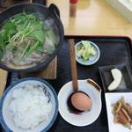 さくら亭 - 馬鍋定食 1000円