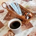 しゃけ焼き本舗 - ホットコーヒー 120円