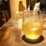 カレーうどん ひかり - 梅の宿の梅酒