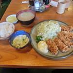 とんかつ大関 - カキフライ定食