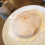 ホノルルコーヒー - マカダミアナッツクリームパンケーキ