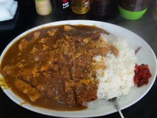 キッチンあべ - 大カツカレー
