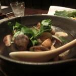 雪月風花 - 浅利と松茸