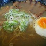 ぶたいち - ホタテ出汁塩ラーメン 760円 2014.11