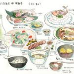 izakaya 新道亭 - 再び釣りの反省会です。カワハギの持ち込みを大変おいしく料理して戴きました。