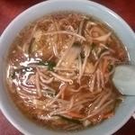千里飯店 - サンマー麺