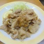 32636034 - チャーハン&一品料理セットの生姜焼き