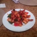 カフェパハナ - 海老野菜炒め!見た目と違ってさっぱり♪とてもおいしい!
