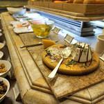 スプレンディード - リコッタチーズ、フェタチーズは、珍しい。めっちゃ、まいう〜。