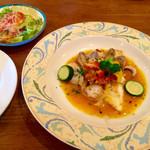 クードフー - 魚介入ブイヤベース風グリルランチ