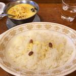 トマト - 和牛ビーフジャワカレー&チーズ