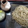 そば処 利庵 - 料理写真:道産・新そば(十割)