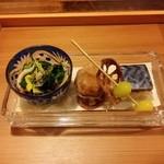 角 倉 - 料理写真:前菜