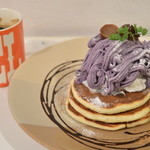 elk - 2014/11 紫芋と和栗のモンブラン(コーヒーorティー付) 1,280円