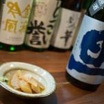 松やま - 数の子と日本酒 旦