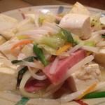 沖縄家庭料理 残波の風 - 豆腐チャンプルー
