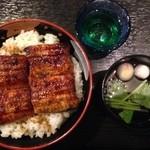 うなぎ料理 あつみ - ミニ丼+肝吸い