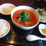 優香樓 - 担担麺セット