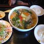 優香樓 - 五目麺セット