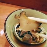 篠寿司 - 柔らかく味わい深いです。