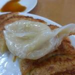 満腹 - 円盤餃子30個¥1620