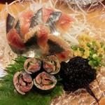 道そ神 - 秋刀魚の刺身