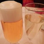 32655610 - 生ビールとスプマンテ