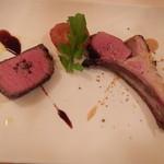 イルサーレ - 黒毛和牛のロースト&ラムの炭火焼