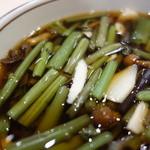 安達太良サービスエリア(上り線) レストラン・スナックコーナー - 山菜が多くて幸せ~