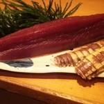 名登利鮨 - 料理写真:戻り鰹、しゃこ