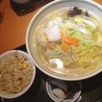昭和軒 - 本日の定食 タンメン+ミニチャーハン 780円